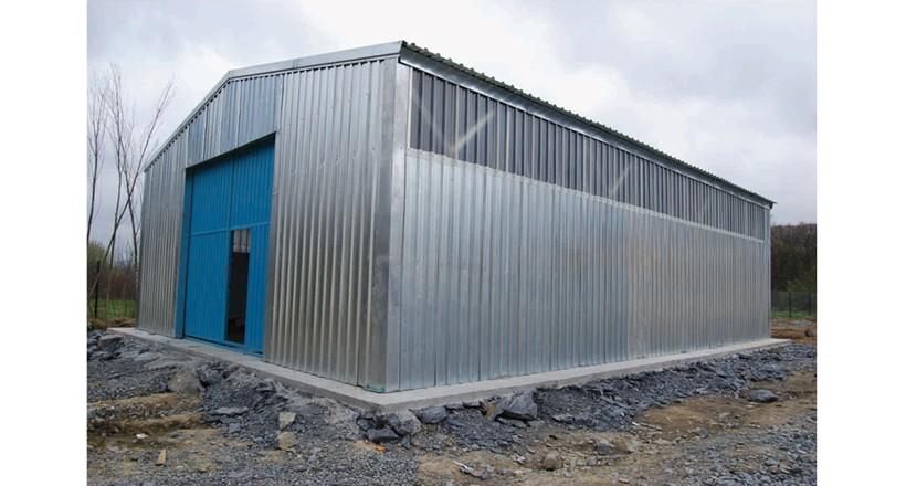 Prefabrik Çelik Yapı Hangar 002