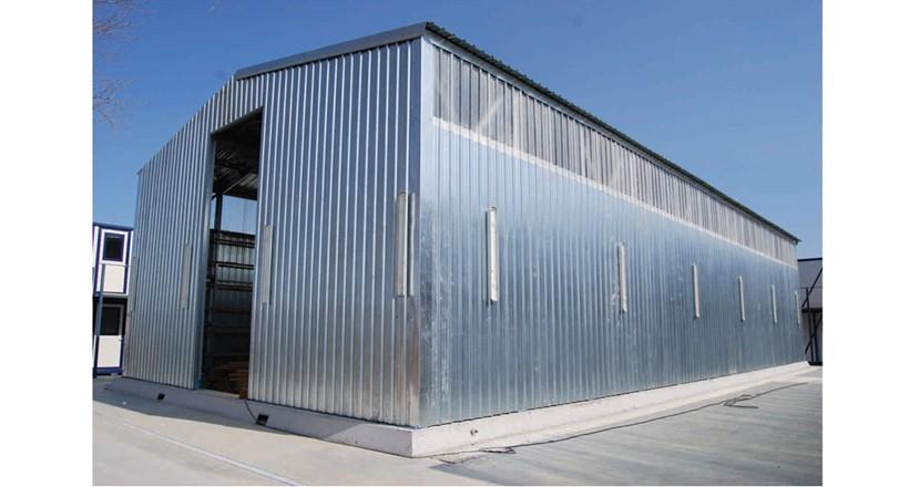Prefabrik Çelik Yapı Hangar 003