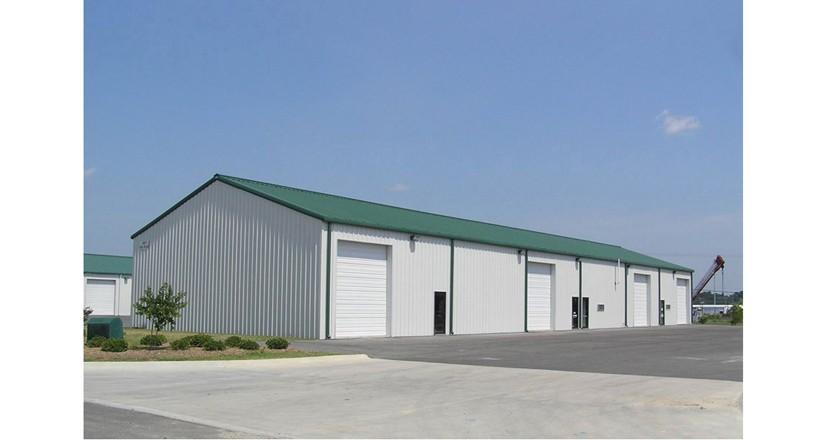 Prefabrik Çelik Yapı Hangar 004