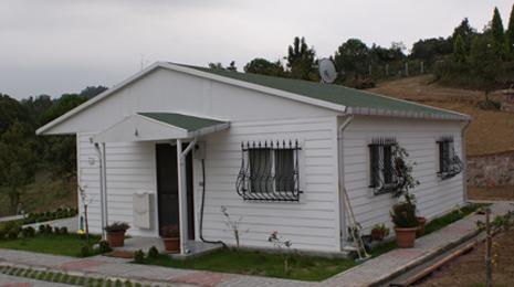 tek katlı prefabrik ev