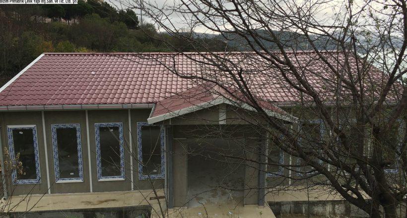 Prefabrik İstanbul Ofis Planı