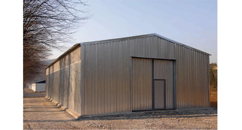 Prefabrik Çelik Yapı Hangar 001