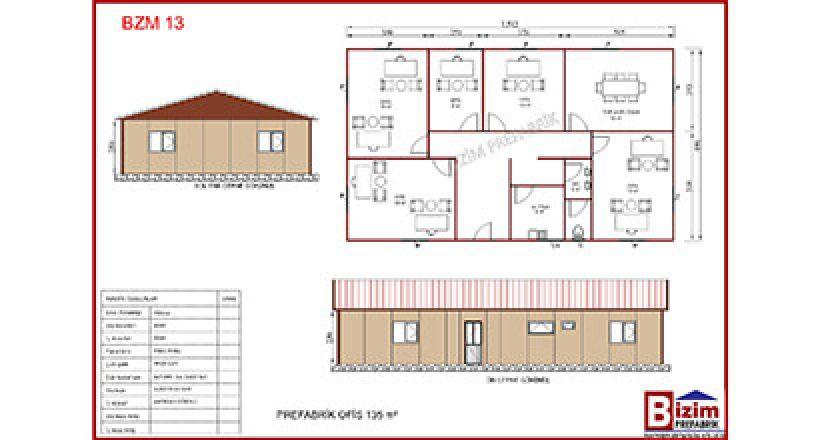 prefabrik ofis projeleri bzm 13