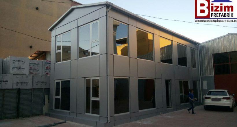 İki Katlı Prefabrik Ofis İstanbul
